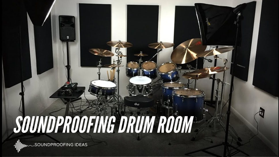 How To Soundproof Drum Room