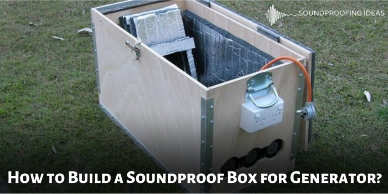 Build Soundproof Box For Generator