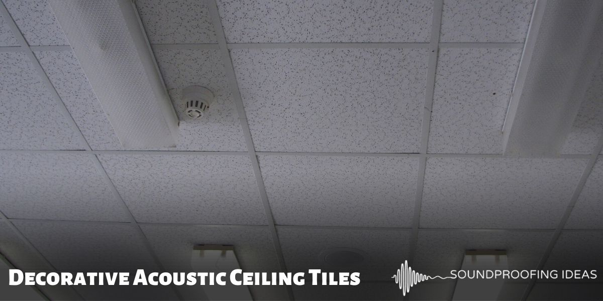 Decorative Acoustic Ceiling Tiles